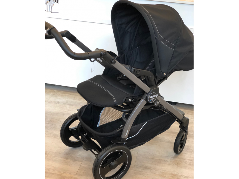 Peg Perego Set Podvozek BOOK 51 S Jet + Nástavba POP UP Completo Onyx