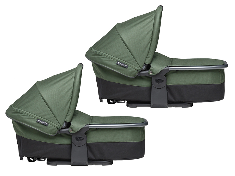 TFK Carrycot Duo combi oliv