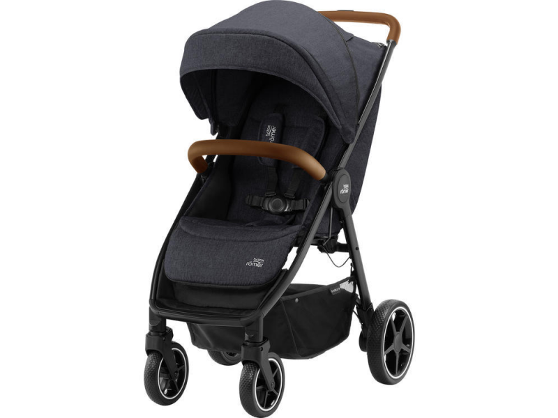 Britax Römer Kočárek B-Agile R, Black Shadow/Brown
